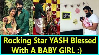 Rocking Star YASH Blessed With A Baby Girl video - id 371995987c34c8 -  Veblr Mobile