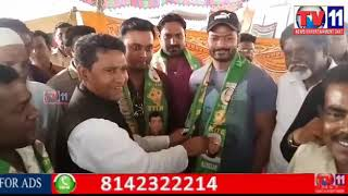 LANGER HOUZ BJP PARTY MAHENDRA SINGH & GROUP JOINING IN MIM PARTY