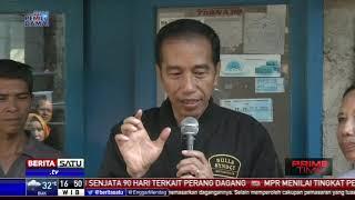 Jokowi Pasang Listrik Gratis untuk Keluarga Tak Mampu di Bogor