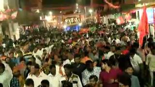 Shri Amit Shah's road show in Malkajgiri, Telangana : 02.12.2018
