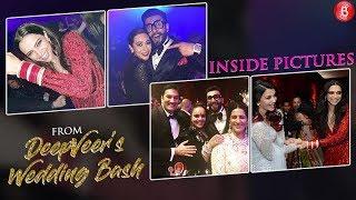 Watch all the fun inside Deepika-Ranveers star-studded wedding party