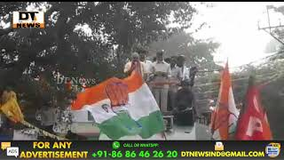 Muzzafar Ali Khan | Road Show With Chandra Babu Naidu | Election Campaign In Malakpet - DT News