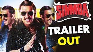 Simmba Trailer Out | Ranveer Singh Sara Ali Khan Sonu Sood