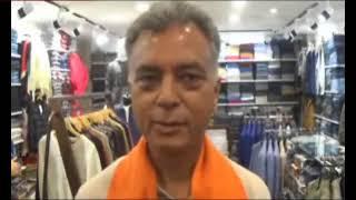 भाजपा प्रत्याशी अनिल शर्मा ने  मंडी शहर में अपने चुनाव प्रचार कोदी गति ।