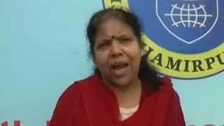 हमीरपुर के दा मैगनेट पब्लिक स्कुल और ओक्सफोड इन्टर नेशनल स्कुल द्वारा  मतदाता जागरूकता रैली निकाली