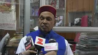 18 दिसम्बर को काग्रेस को जनता दिखाएगी आईना कहा पुर्व मुख्यमंत्री प्रेम कुमार धूमल ने ।