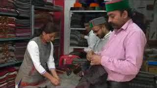 Hamirpur Kullu Stol opening gandhi Chowk Hamirpur near App. state bank