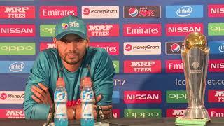 26 May, Birmingham – Bangladesh captain – Mashrafe Mortaza pre tournament press conference