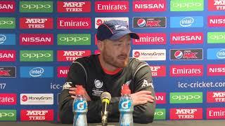30 May, Birmingham – New Zealand – Martin Guptill pre tournament press conference