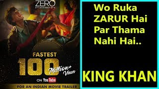 ZERO Becomes Fastest Indian Trailer To Cross 100 Million Views