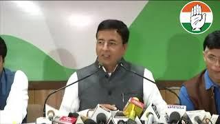 Rajasthan Election 2018: Randeep Singh Surjewala addresses media in Jaipur, Rajasthan