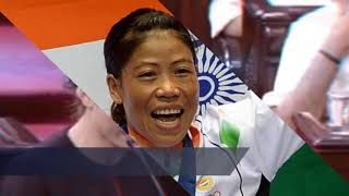M C Mary Kom - Five-time world Amateur Boxing Champion
