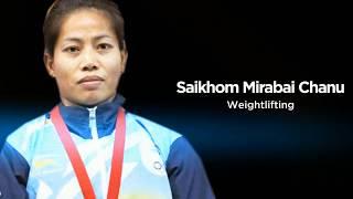 Saikhom Mirabai Chanu - A reigning world champion in weightlifting