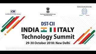 DST CII India Italy Technology Summit 2018  - Session 6: Education