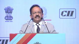 Dr. Harsh Vardhan at the DST-CII India-Italy Tech Summit 2018 Valedictory Session