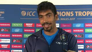 15 June, Birmingham India Jasprit Bumrah Speaks in Mixed Zone