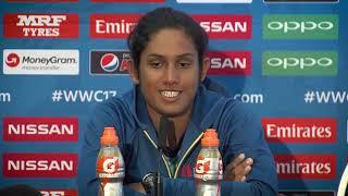28 June, Bristol Sri Lanka's Chamari Athapaththu looks forward to her side's match against Australia