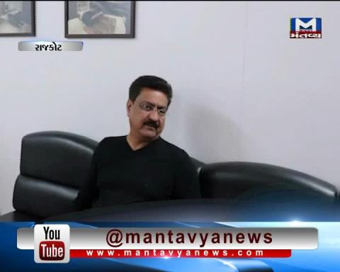 Ex MLA Indranil Rajguru supports Candidate Avsar Nakia in Jasdan By Poll