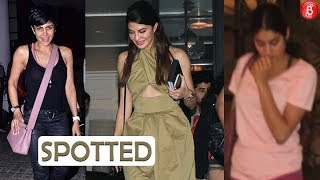 Jacqueline Janhvi and other celebs spotted at a popular eatery in Mumbai