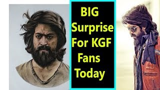 Big Surprise For KGF Fans Today  Apart From Song Release I Will The Makers Announce KGF Part 2?
