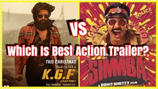 KGF Trailer Vs Simmba Trailer? Which Is Best Action Trailer