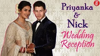 Priyanka Chopra and Nick Jonas look spectacular at their wedding reception