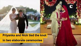 Priyanka-Nick Wedding Pictures: Bollywood is all awe for the lovely couple