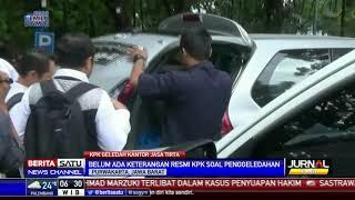 KPK Geledah Kantor PJT II Jatiluhur Terkait Kasus Jasa Konstruksi