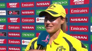 2 July, Bristol Australia Ellyse Perry Post Match Press Conference