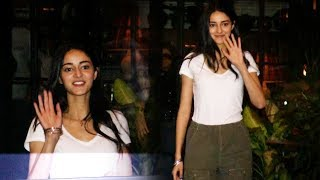 Ananya Pandey With Her Mom Bhavana Pandey Spotted At Soho House