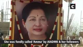 Preparations underway for Jayalalithaa's 2nd death anniversary in Chennai