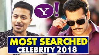 Salman Khan Becomes Most Searched Celebrity Of 2018 On Yahoo