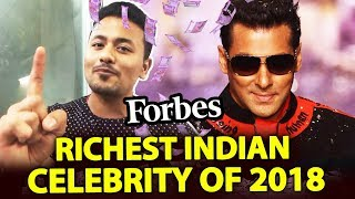 Salman Khan Tops The 2018 Forbes India Celebrity 100 list For The Third Time In Row