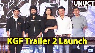 KGF Trailer Hindi Launch   FULL VIDEO   Yash Srinidhi, Farhan Akhtar, Ritesh Sidhwani