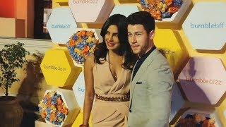 Newly Wed Couple Priyanka And Nick Jonas At App Launch In Delhi