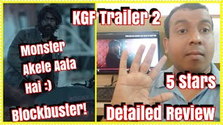 KGF Trailer 2 Review In Hindi l This Film Will Be Blockbuster l Yash Rocks