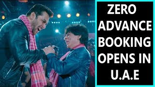 Zero Movie Advance Booking Started In Grand Way In UAE