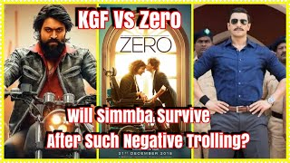 Will Simmba Survive In Clash With ZERO And KGF After Such Negative Trolling?