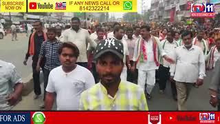 AP CM CHANDRABABU ROADSHOW AT SHAPUR NAGAR   QUTHBULLAPUR