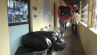 Activist Dump Waste Infront Of Canacona Municipal Council's Chief Officer's Door !
