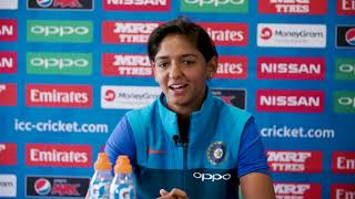 4 July, Derby - India - Harmanpreet Kaur pre match press conference