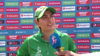 8 July, Taunton - New Zealand - Suzie Bates post match press conference