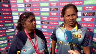 09 July, Derby - Sri Lanka - Inoka Ranaweera Post Match Press Conference