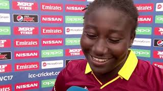 09 July, Derby - West Indies - Stafanie Taylor - Post Match Press Conference