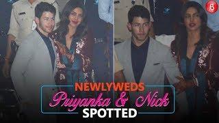 Newlyweds Priyanka Chopra and Nick Jonas are back in Mumbai