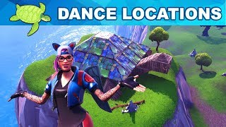 TURTLE LOCATIONS - Dance on Top of a Metal Turtle Locations - Fortnite Week 1 Challenges Season 7
