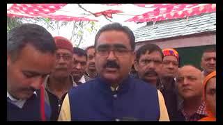 कनीकी शिक्षा मंत्री बिक्रम ठाकुर ने परागपुर क्षेत्र की जनता की सुनी समस्याए