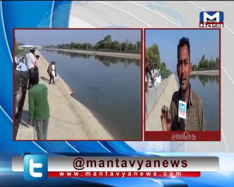 Banaskantha: Sinkhole occurred in the Narmada Canal