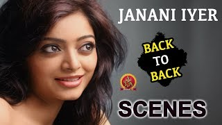 Janani Iyer Back To Back Scenes - 2018 Latest Telugu Movie Scenes - Bhavani HD Movies