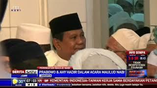Prabowo dan AHY Hadiri Acara Peringatan Maulid Nabi